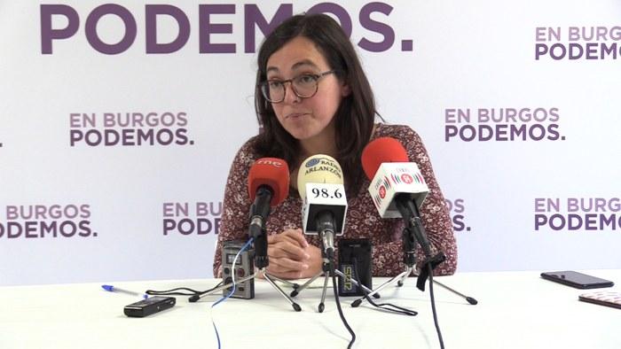 Laura Dominguez Sede Podemos (Octubre 2019)