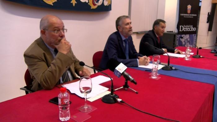 Visita Francisco Igea UBU Manuel Perez Mateos Congreso Internacional Despoblacion (Octubre 2019)
