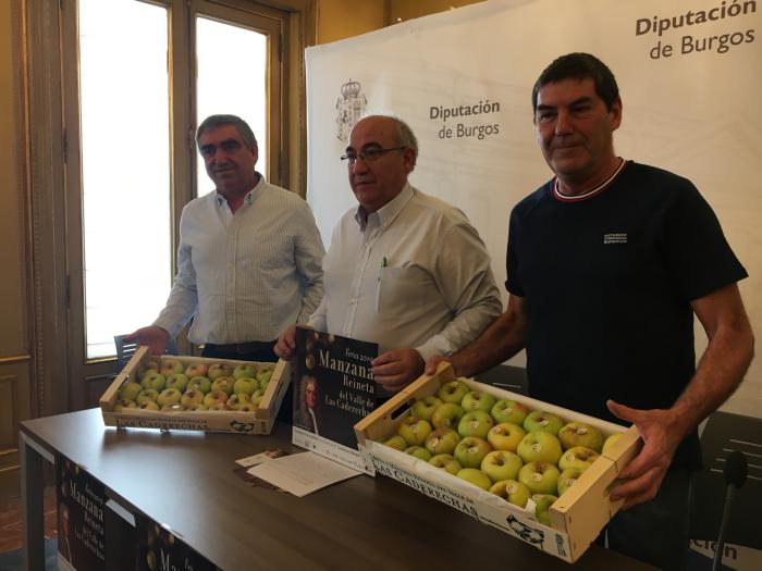 Presentación Feria de la Manzana Reineta de Caderechas