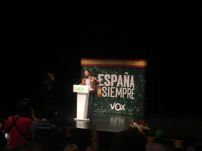 Santiago Abascal, presidente nacional de VOX