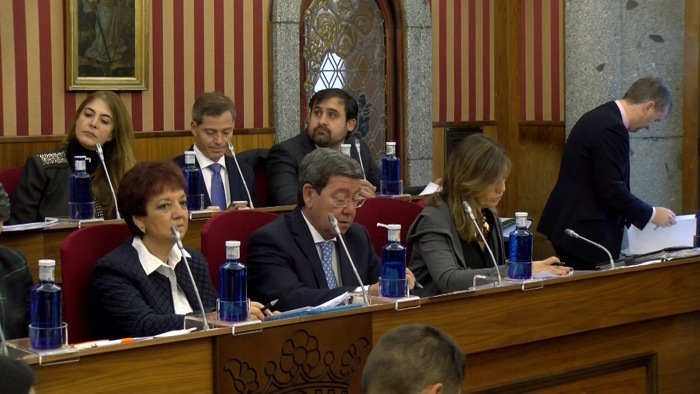 Grupo Municipal Popular PP Pleno Ayuntamiento Burgos (Noviembre 2019)
