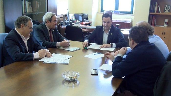 Imagen de archivo de la Mesa diálogo social alcaldía