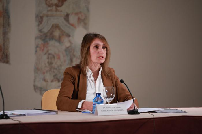 Rocío Lucas, consejera de Educación