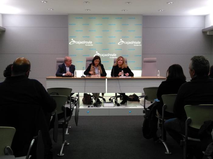 Sandra Moneo y Cristina Ayala, parlamentarias del PP