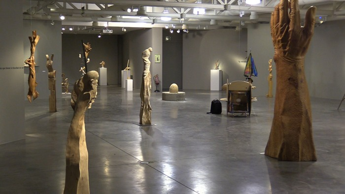Exposicion Humberto Abad Rebobinando 201988 En El Borde Del Arte Sala Pedro Torrecilla (Enero 2020)
