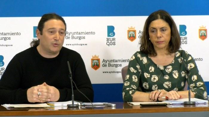Grupo Municipal Podemos Israel Hernando Margarita Arroyo Ayuntamiento (Enero 2020)