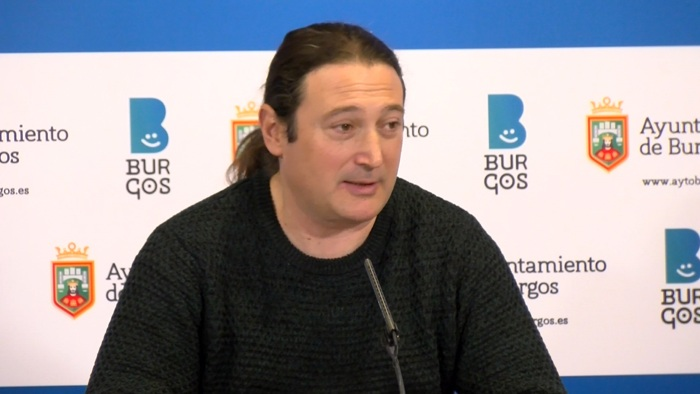 Israel Hernando Concejal Podemos Ayuntamiento Burgos (Enero 2020)