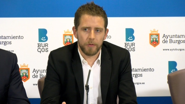 Josue Temiño Concejal Ayuntamiento Burgos (Enero 2020)