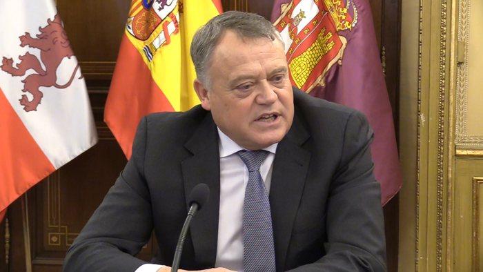 Lorenzo Rodriguez Vicepresidente Diputacion Burgos (Enero 2020)