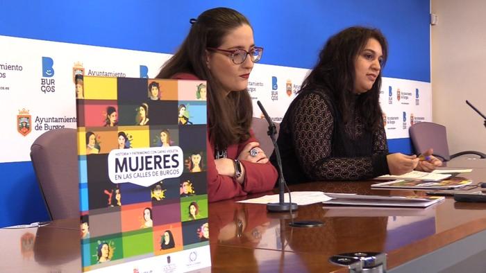 Presentacion Libro Callejero Calles Burgos Historia y Patrimonia con Gafas Violetas Mujeres en las Calles de Burgos Estrella Paredes (Enero 2020)