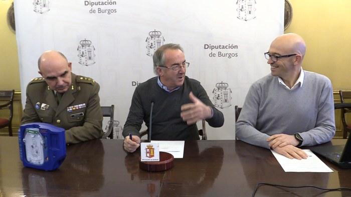 Presentacion Prueba Deportiva Desafio de Helios Vencer al Sol Jorge del Barco Angel Carreton Diputacion Burgos (Enero 2020)