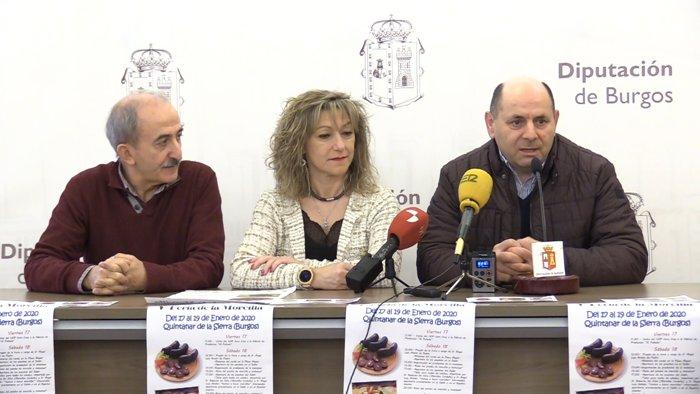 Presentacion V Feria de la Morcilla Quintanar de la Sierra (Enero 2020)