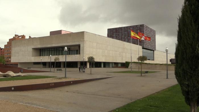 Exterior de las Cortes de Castilla y León