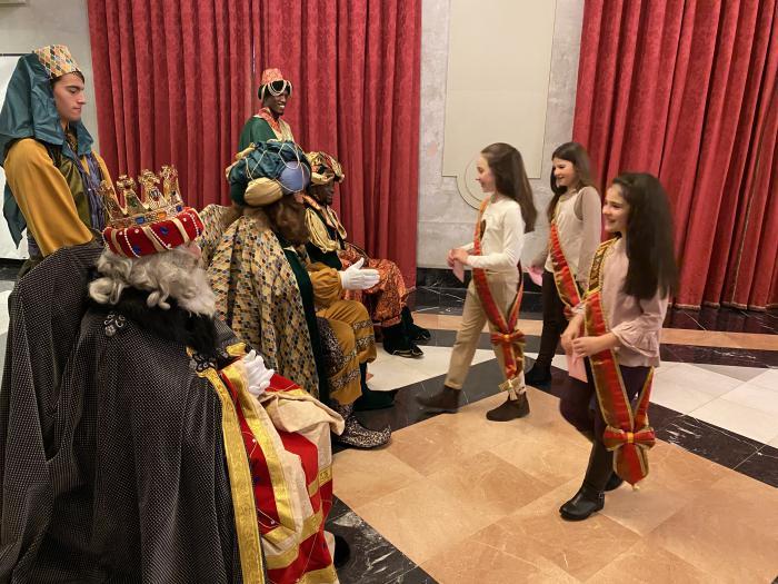 Reinas con los Reyes Magos en el Teatro Principal