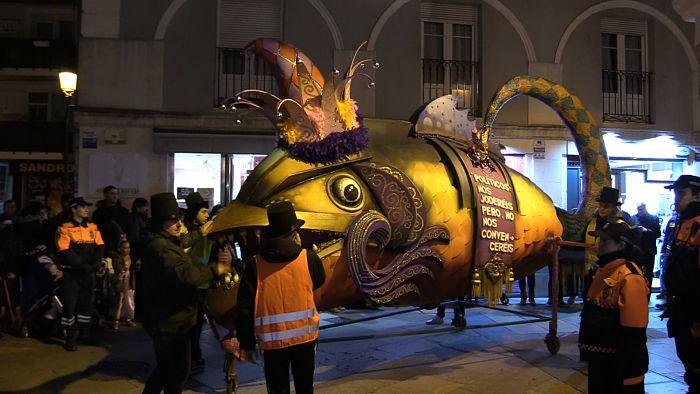 Entierro de la sardina 2020, desfile_opt