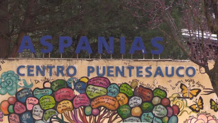 Exteriores Fundación Aspanias de Burgos Centro Puentesauco (Febrero 2020)