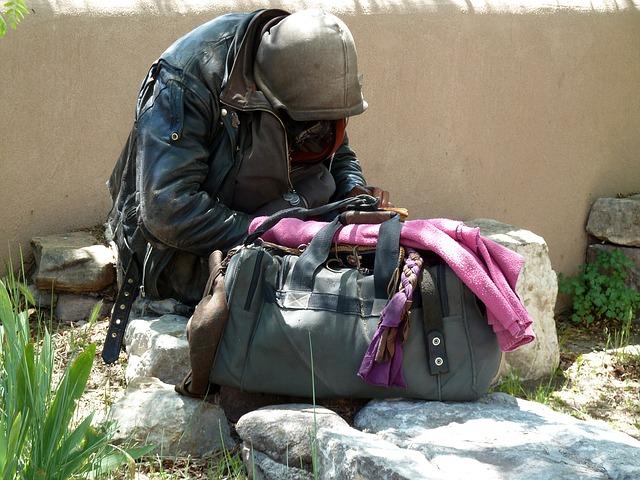mendigo pobreza exclusion