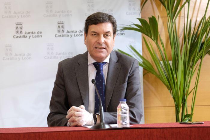 Carlos Fernandez Carriedo Consejero Empleo e Industria (Mayo 2020)