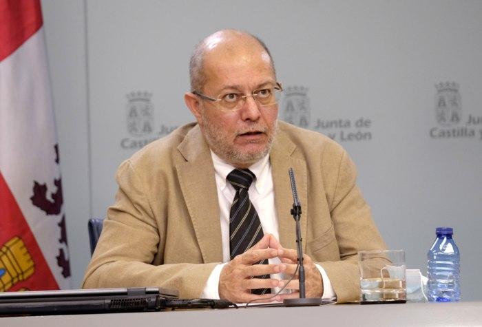 Francisco Igea Portavoz Junta CYL (Mayo 2020)