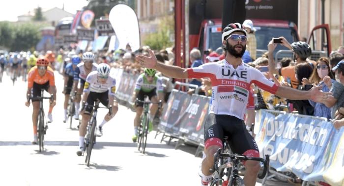 Ganador Segunda Etapa Vuelta Burgos Gaviria - Ricardo Ordoñez