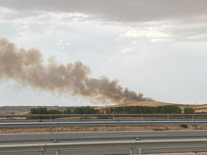 Incendio Inmediaciones Burgos (Julio 2020)
