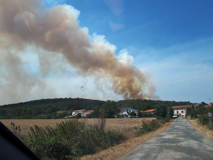 Incendio Valle de Losa El Ribero (Julio 2020)