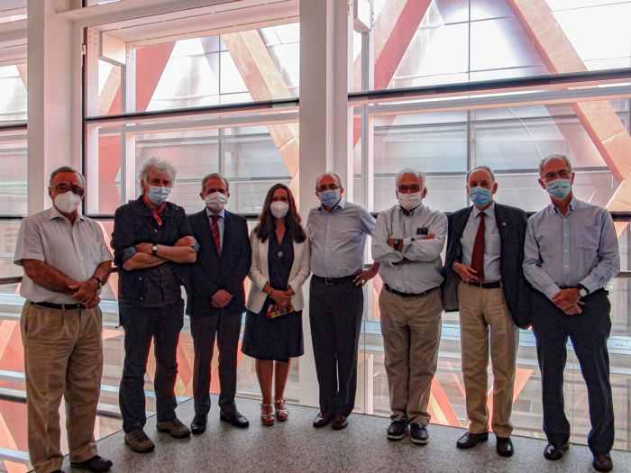 La Fundación Gadea para la Ciencia visita el CENIEH