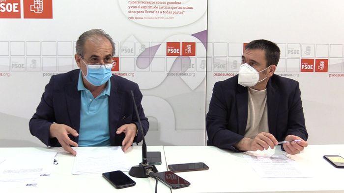Luis Briones Jesus Puente PSOE HUBU (Julio 2020)