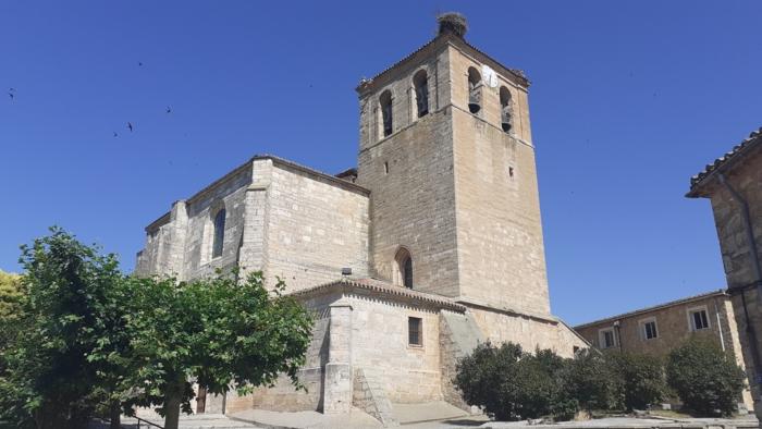 Pueblo Tardajos Iglesia (Julio 2020)