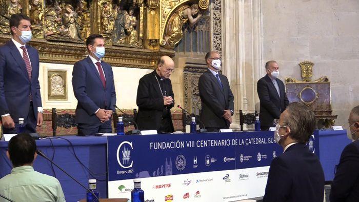 Reunion Patronato Fundacion VIII Centenario Catedral Burgos Capilla de los Condestables (Julio 2020)