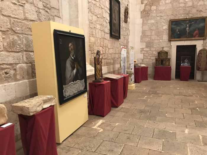 exposición 'Sementera de esperanza. La Iglesia en Burgos en el VIII centenario de su Catedral' en la Iglesia de Lerma