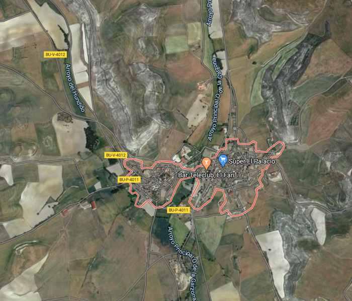 vista satélite de Los Balbases