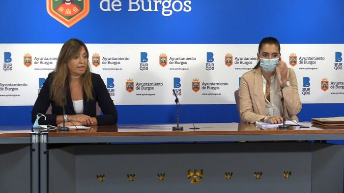 Carolina Blasco Andrea Ballesteros Ayuntamiento (Septiembre 2020)