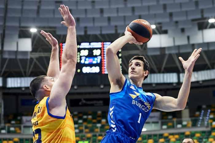 Dejan Kravic MVP en el partido de la acb del san pablo contra el gran canaria en la temporada 2020-2021