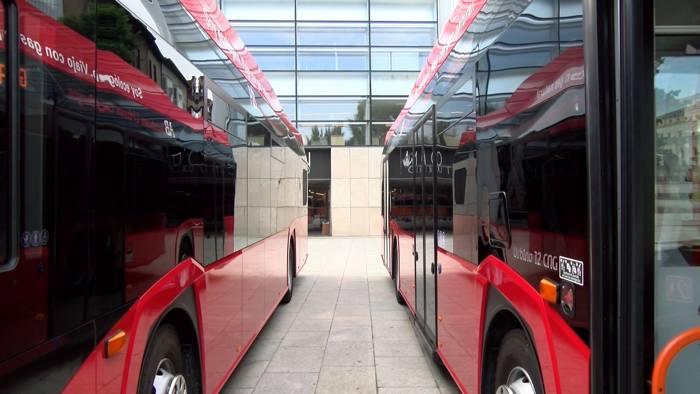 Nuevos Autobuses Urbanos Gas Natural (Septiembre 2020)