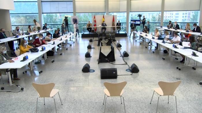 Pleno Ayuntamiento Burgos Forum (Septiembre 2020)
