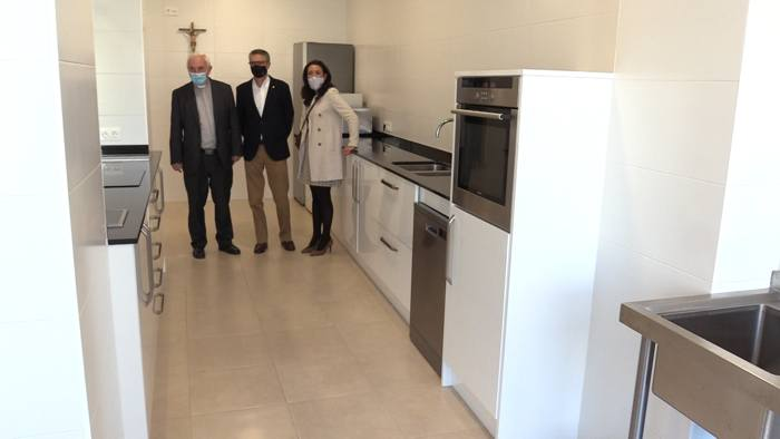 Presentacion Nuevas Instalaciones Fundacion Caja Circulo Gamonal Cursillos Cocina (Septiembre 2020)