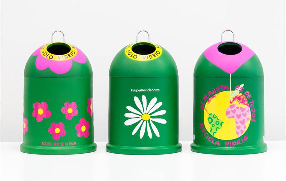 Los iglús ideados por la conocida  diseñadora. Foto: Agatha Ruiz de la Prada