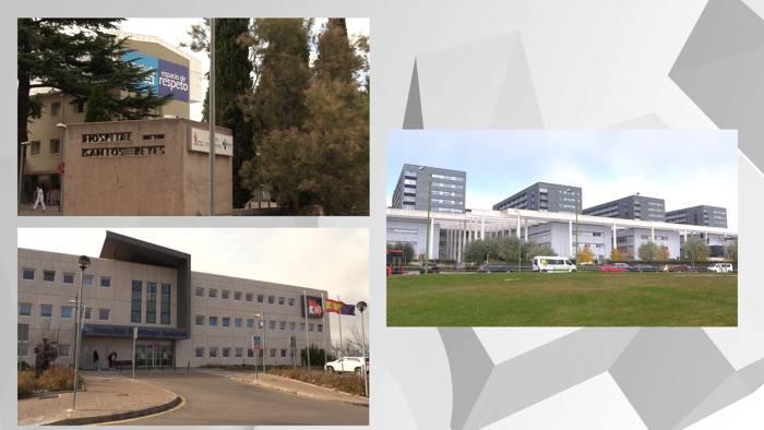 Hospitales Provincia Burgos HUBU Santos Reyes Santiago Apostol (Noviembre 2020)