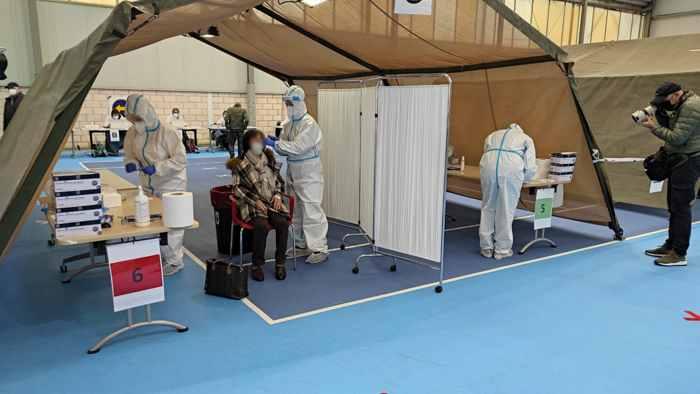 tests cara desenfocada coronavirus