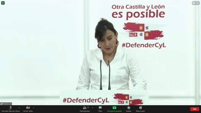 Ana Sánchez PSOE Castilla y León