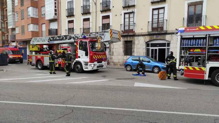 bomberos burgos calle santa clara