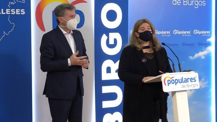 Javier Lacalle Cristina Ayala Senadores PP (Enero 2021)