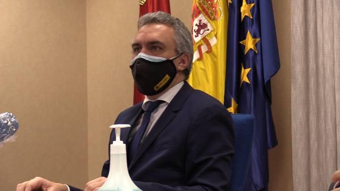 Rueda Prensa Subdelegacion Gobierno Javier Izquierdo (Enero 2021)