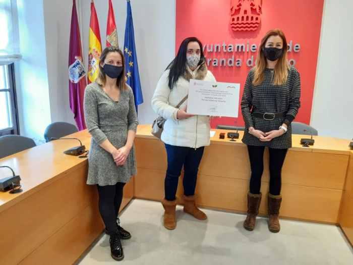 ganadores concurso de balcones navideños Miranda de Ebro