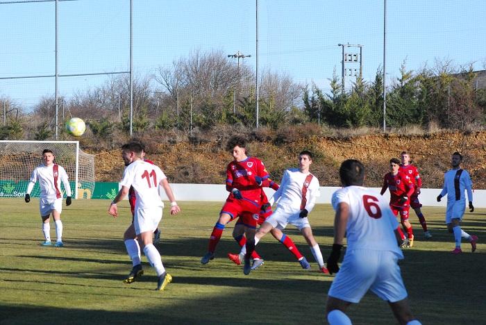 Imagen del partido de la temporada 2019-20 entre ambos rivales en tierras sorianas