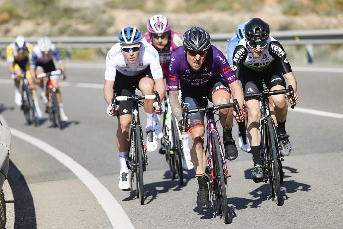 Ángel Madrazo, del Burgos BH, ganó un etapa en la Vuelta 2019. Foto: Photo Gomez Sport