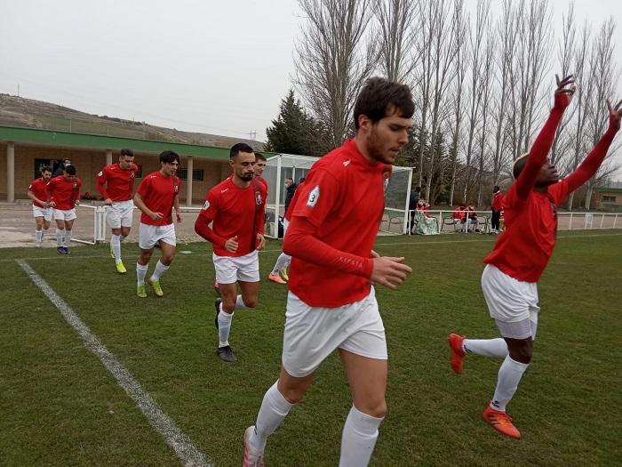 Imagen del Real Burgos en su partido ante el Real Ávila