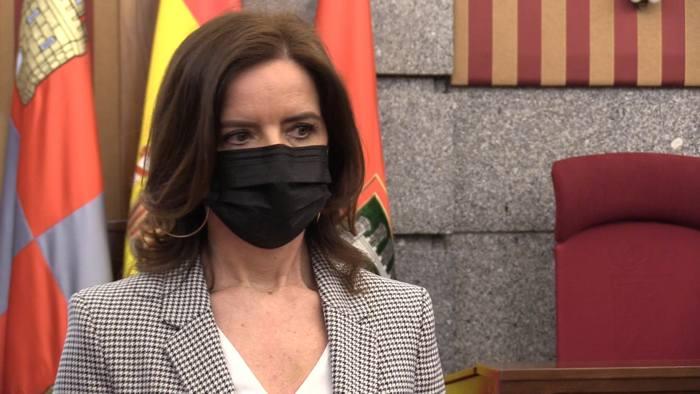Ana Carlota Amigo Consejera Empleo e Industria Visita Ayuntamiento (Marzo 2021)
