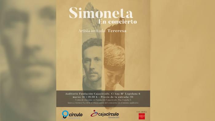 Concierto Simoneta Fundacion Caja Circulo (Marzo 2021)